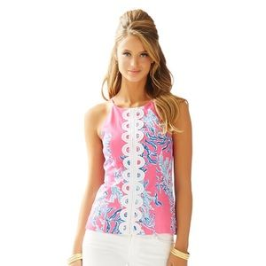EUC Lilly Pulitzer Annabelle Top